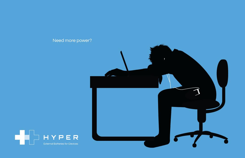 Hyper Print Ad -  Blue