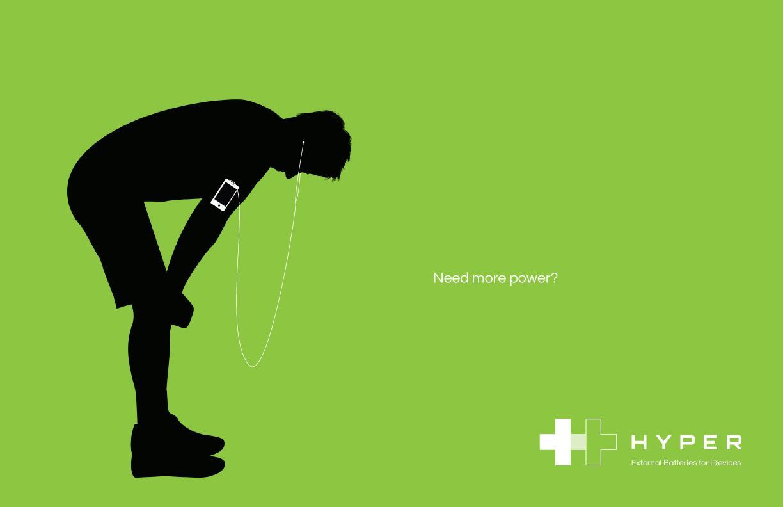 Hyper Print Ad -  Green