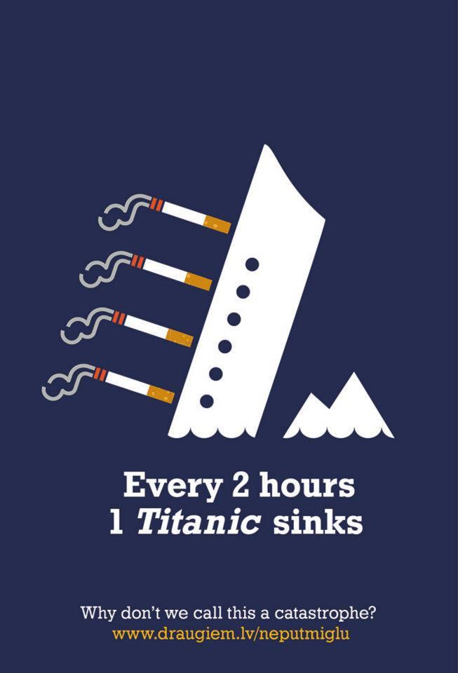 Neputmiglu Print Ad -  Titanic