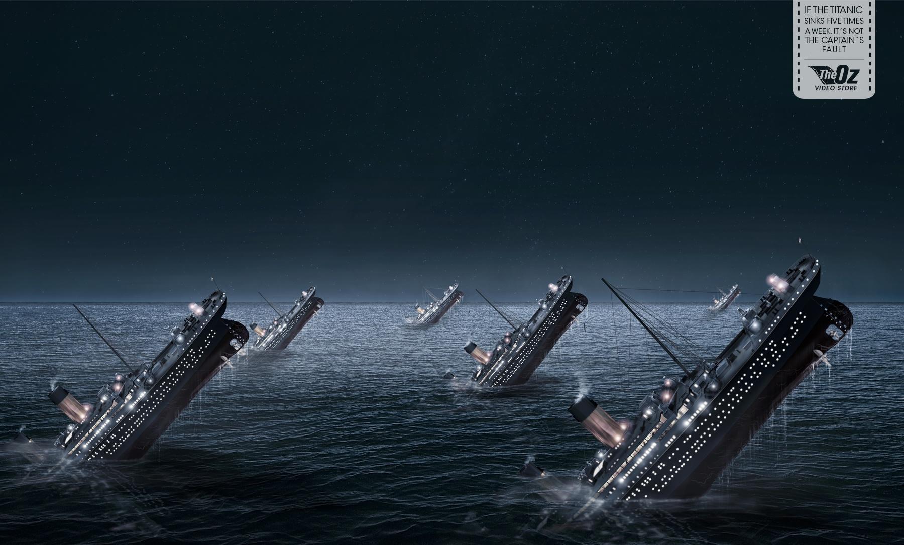 The Cortoz Print Ad -  Titanic