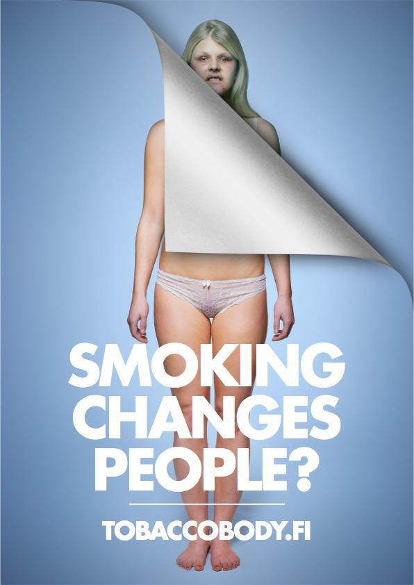 tobaccobody.fi Print Ad -  Change