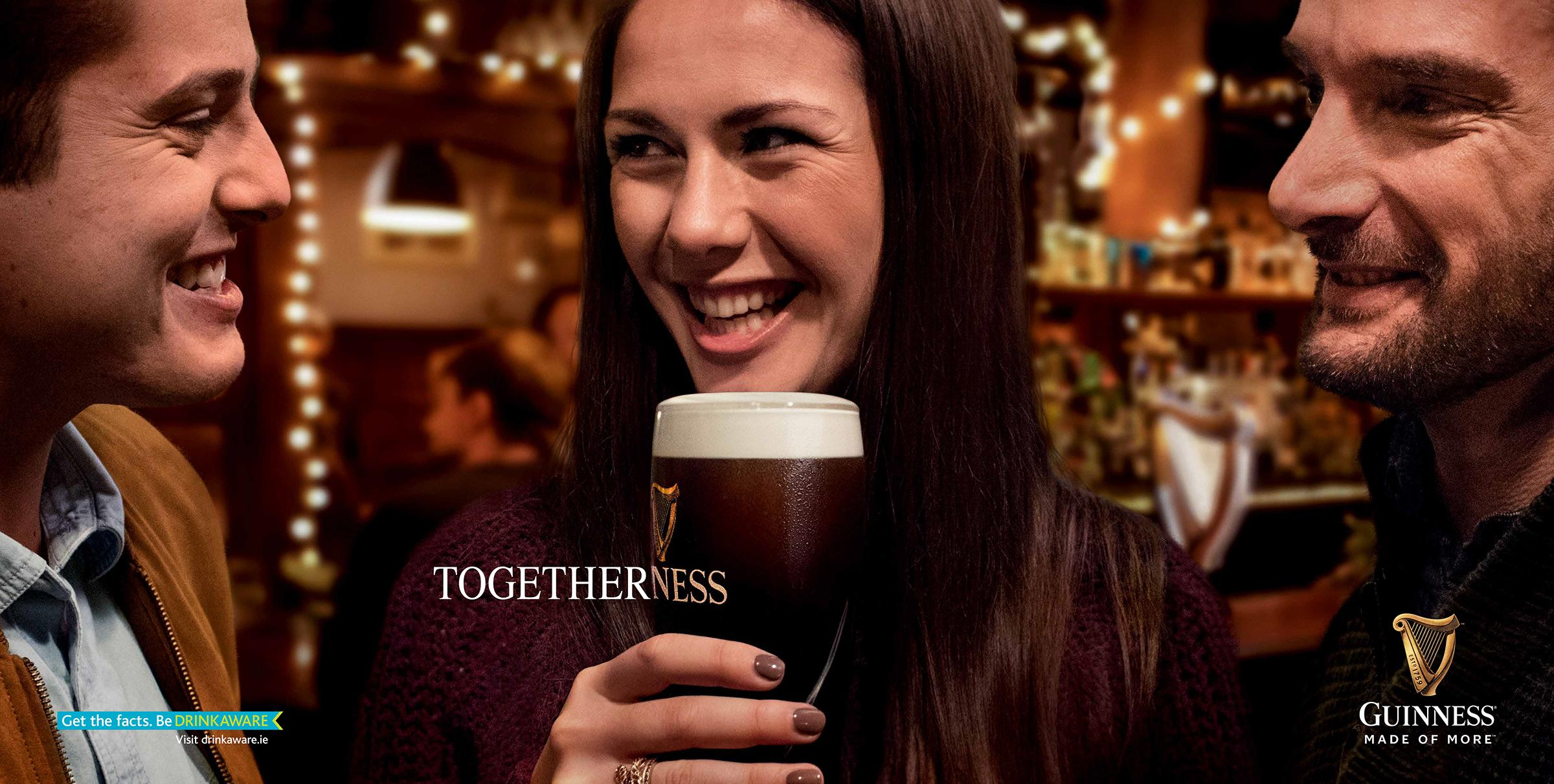 Guinness Print Ad - Togetherness
