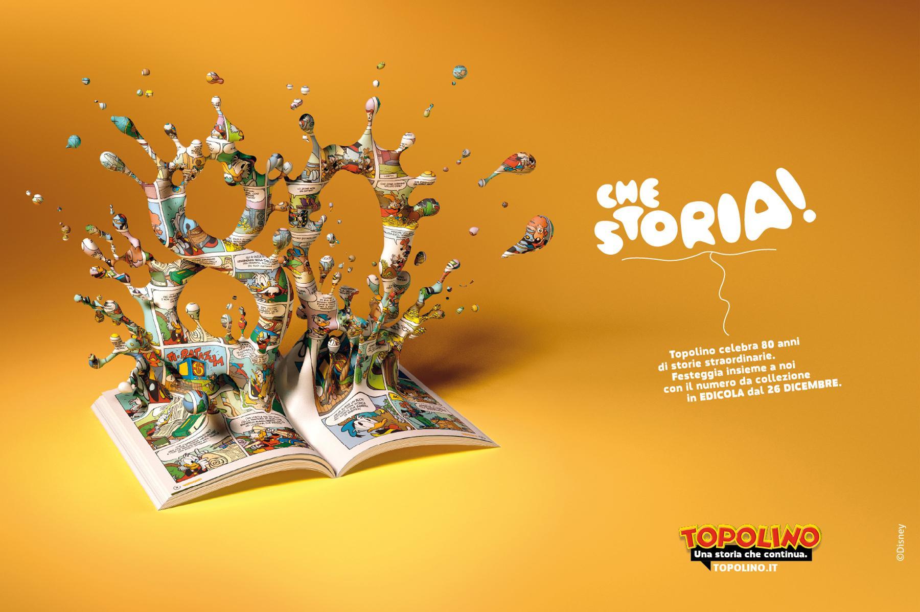 Topolino Print Ad -  80