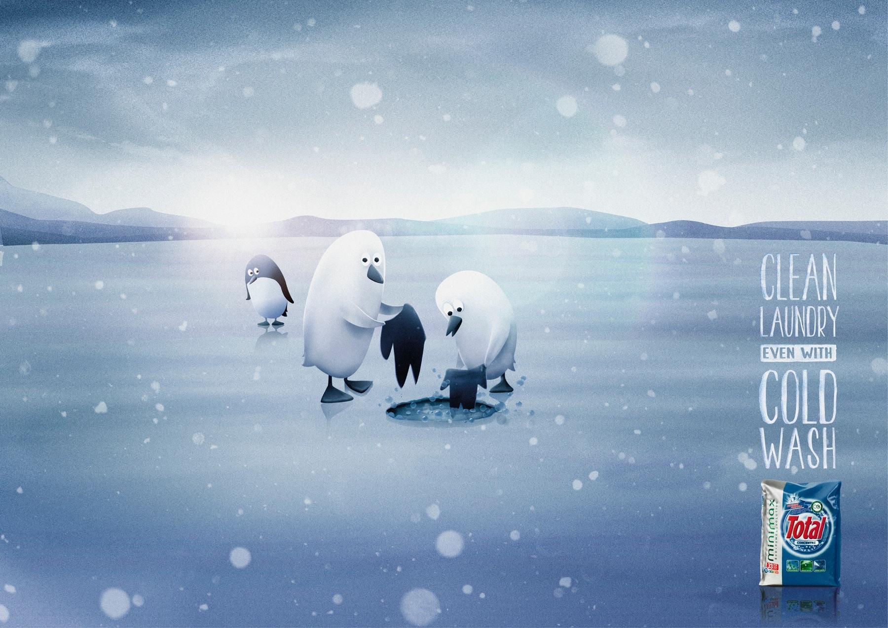 Total Print Ad -  Penguins