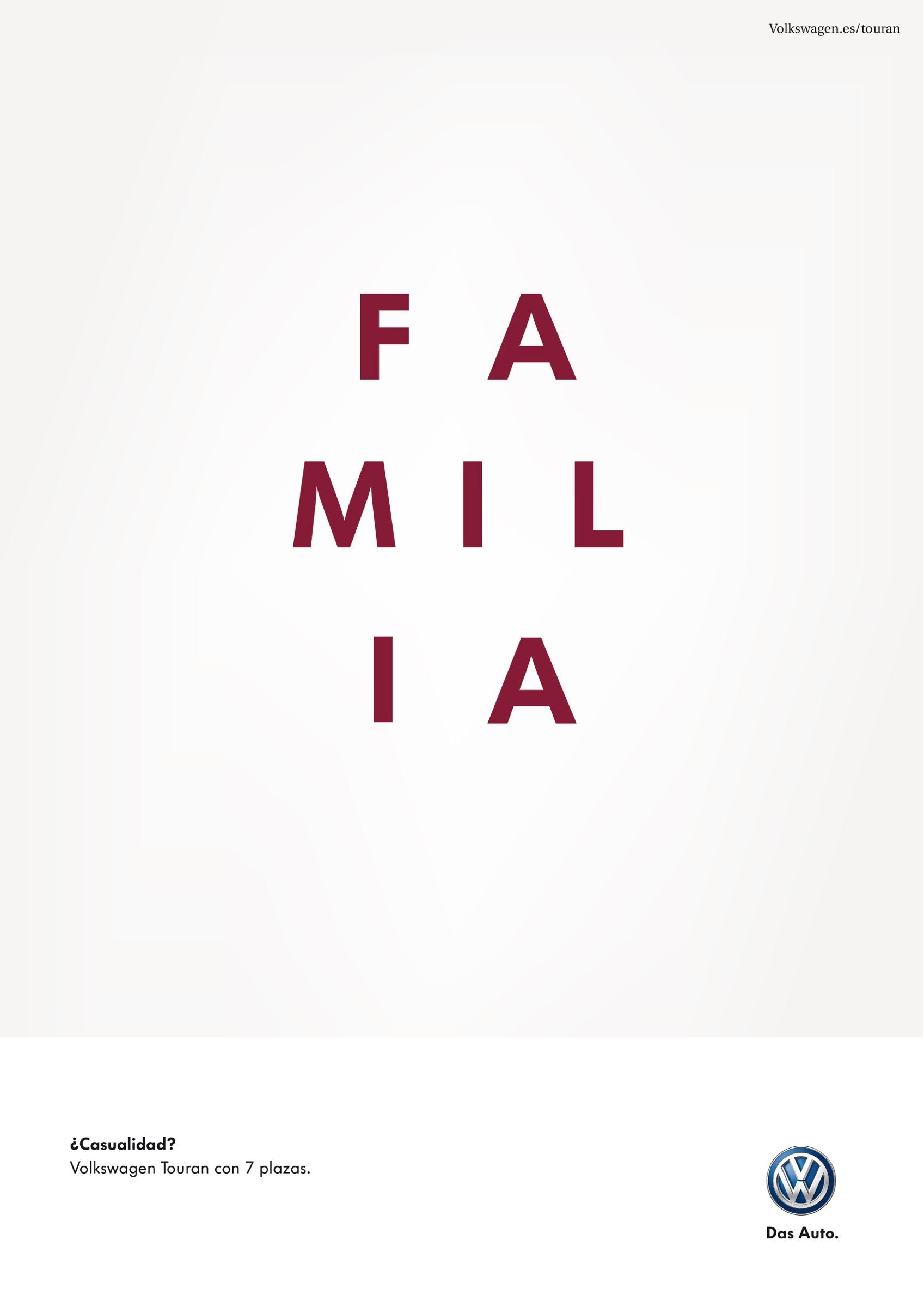 Volkswagen Print Ad -  Family
