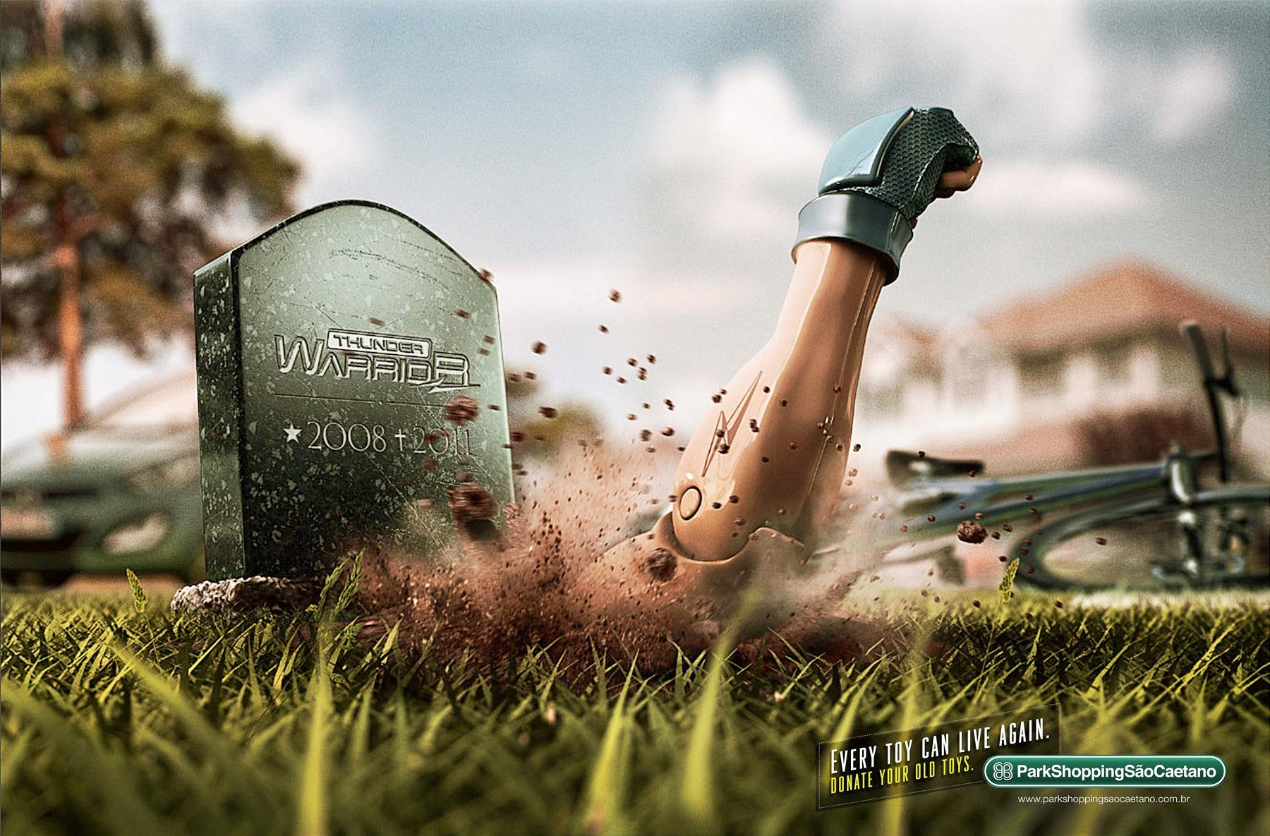 ParkShopping Print Ad -  Action figure