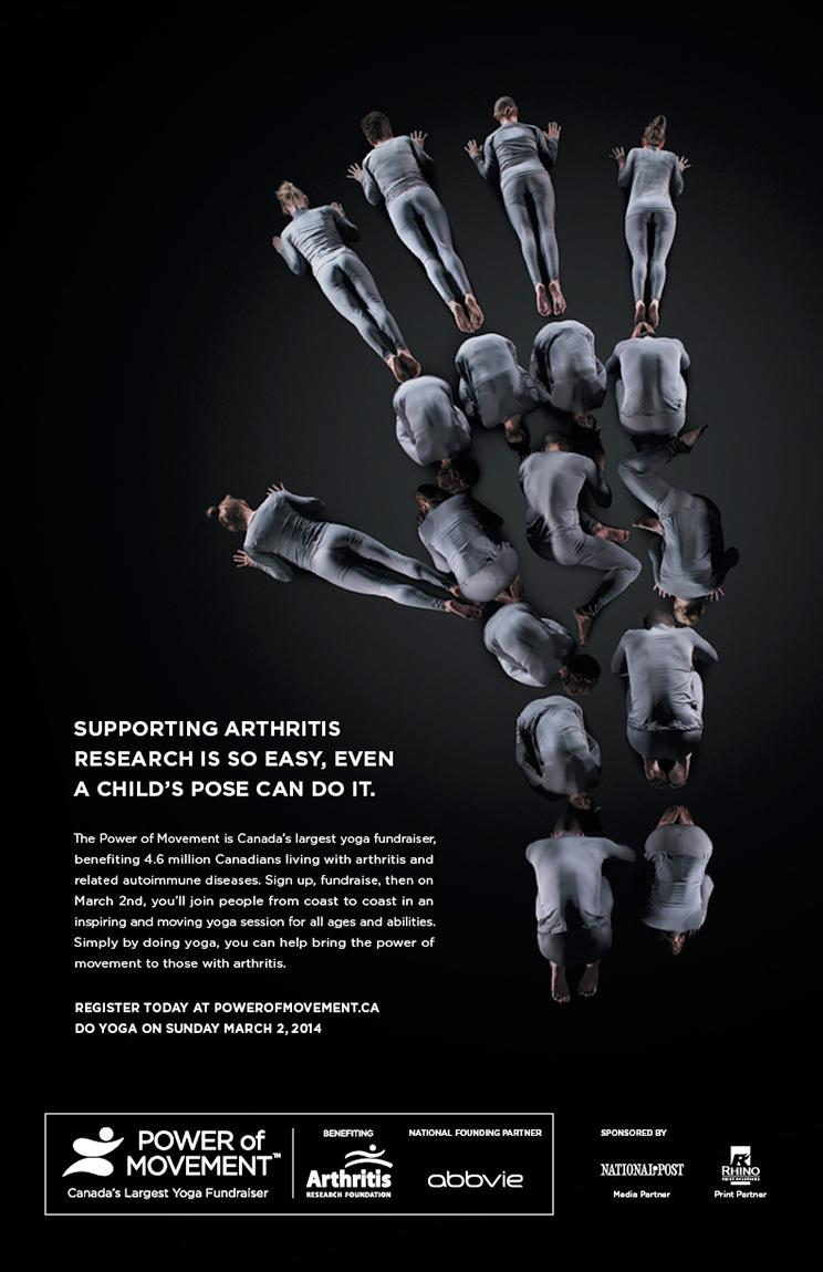Arthritis Research Foundation Print Ad -  Child