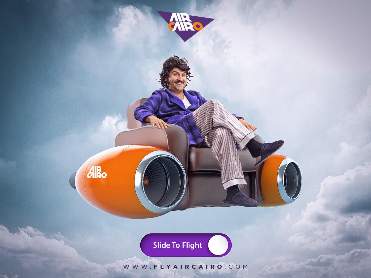 Air Cairo Print Ad - Travel Mood