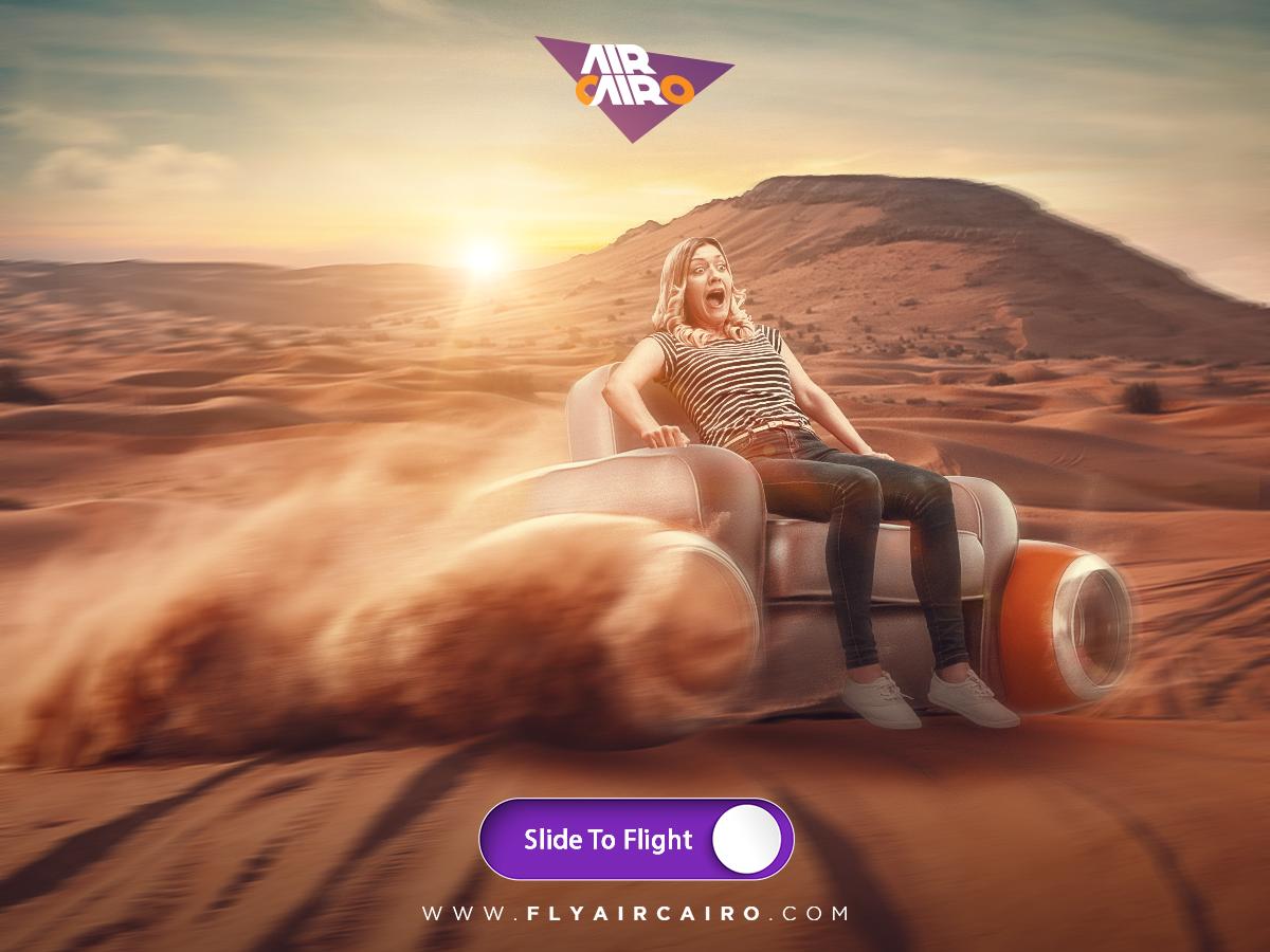 Air Cairo Print Ad - Travel Mood, 3