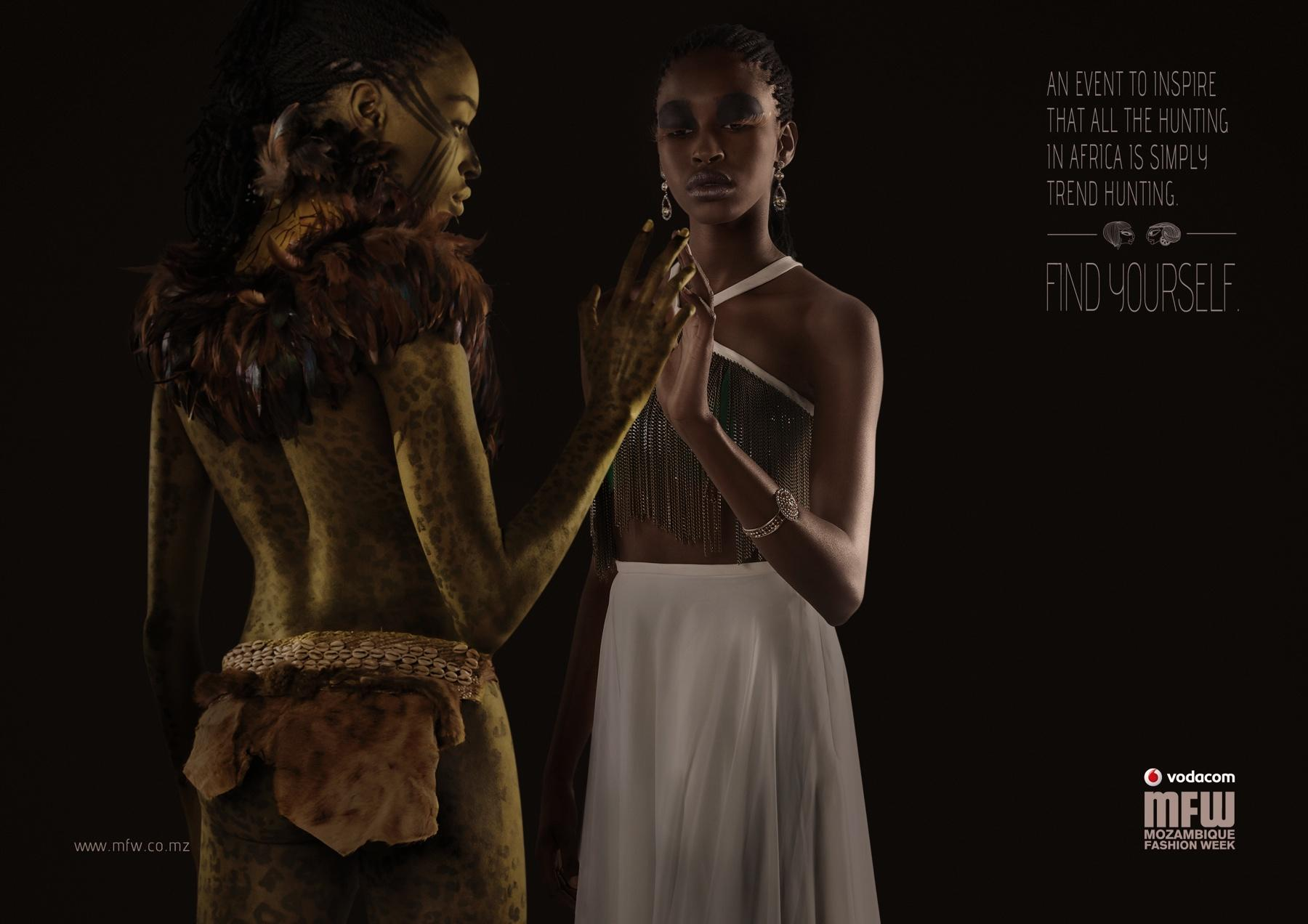 Mozambique Fashion Week Print Ad -  Hunting