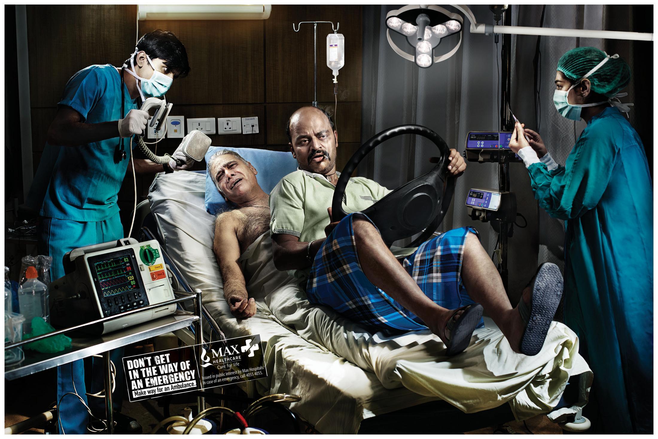 Max Healthcare Print Ad - Truck