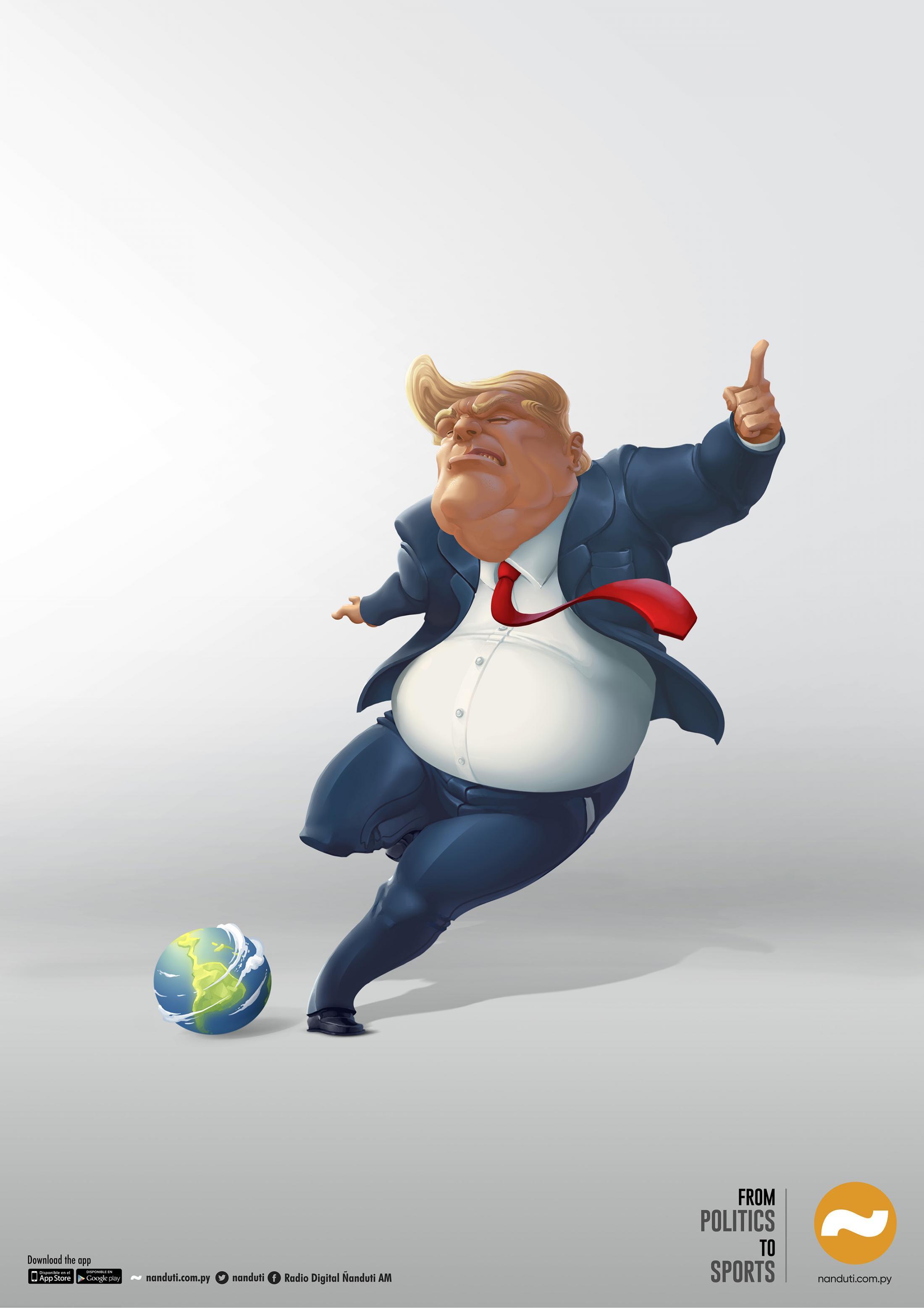 Ñandutí Print Ad - Trump Sports