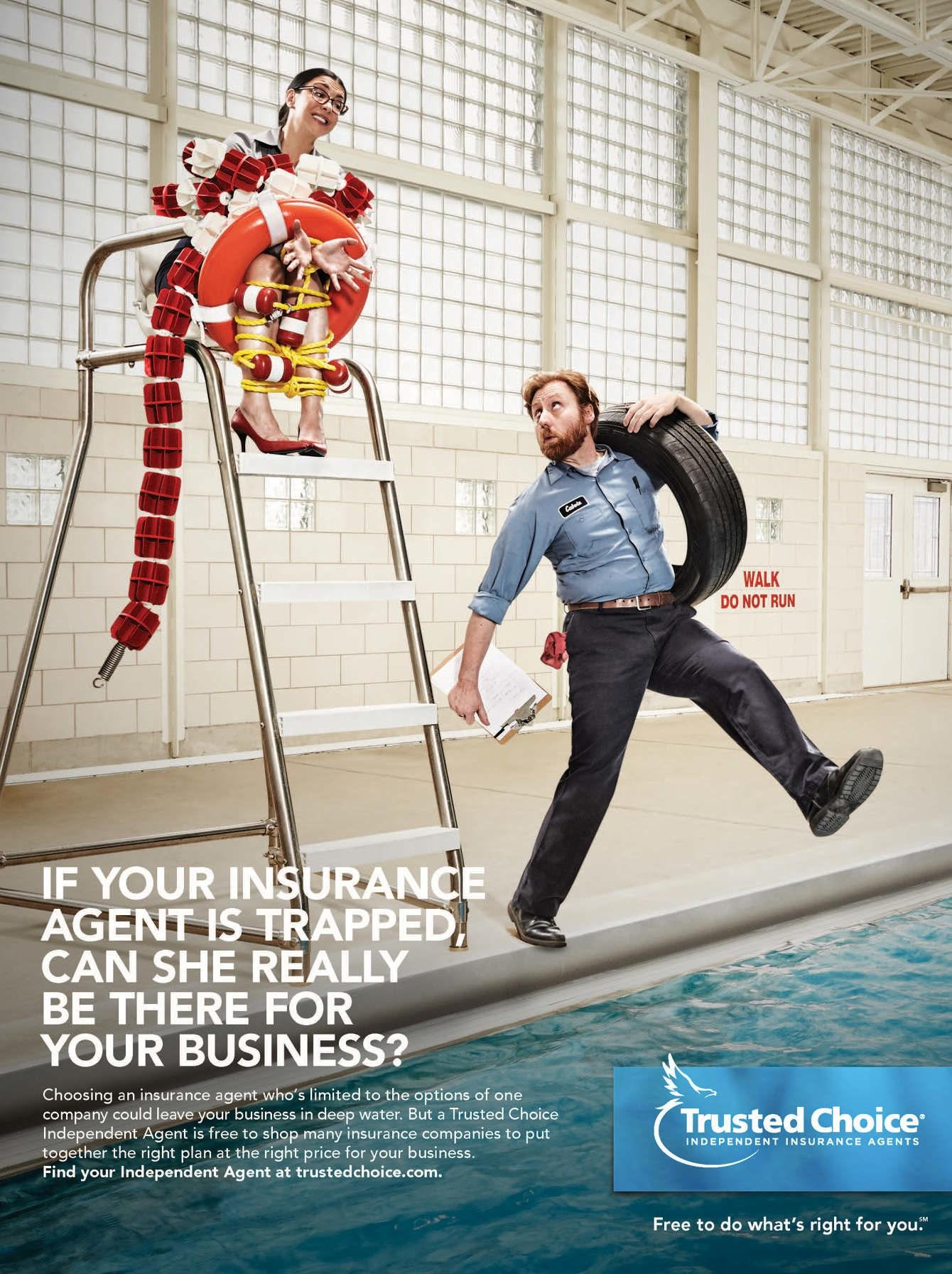 Trusted Choice Print Advert By Marc: Risky Business - In ...