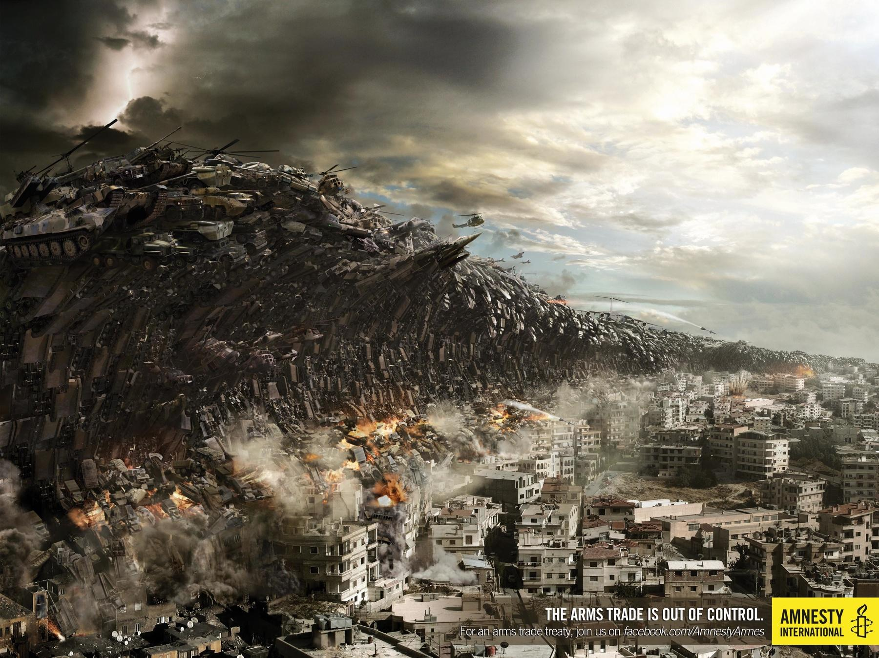 Amnesty International Print Ad -  Tsunami