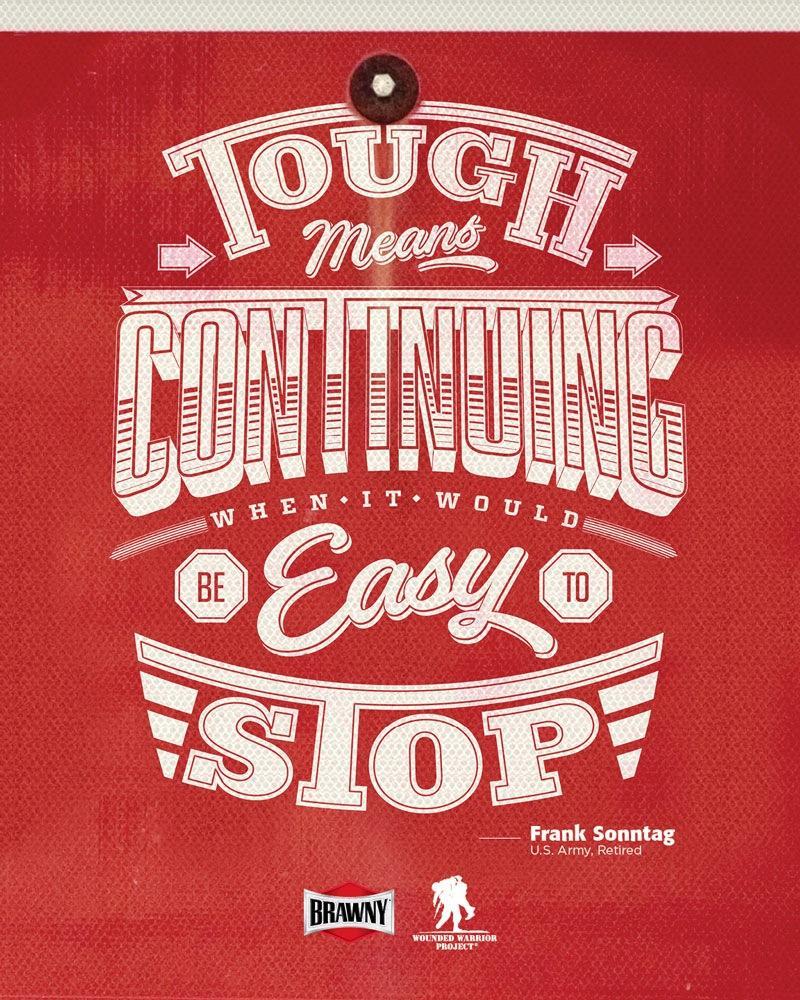 Brawny Print Ad -  Tough to the core, 5