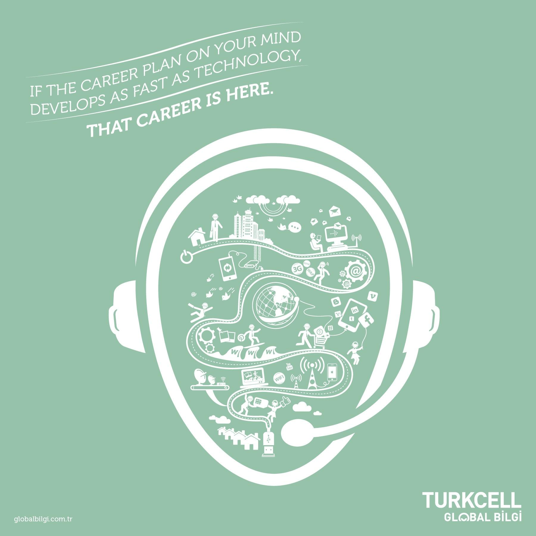 Turkcell Print Ad -  The job on your mind, 2