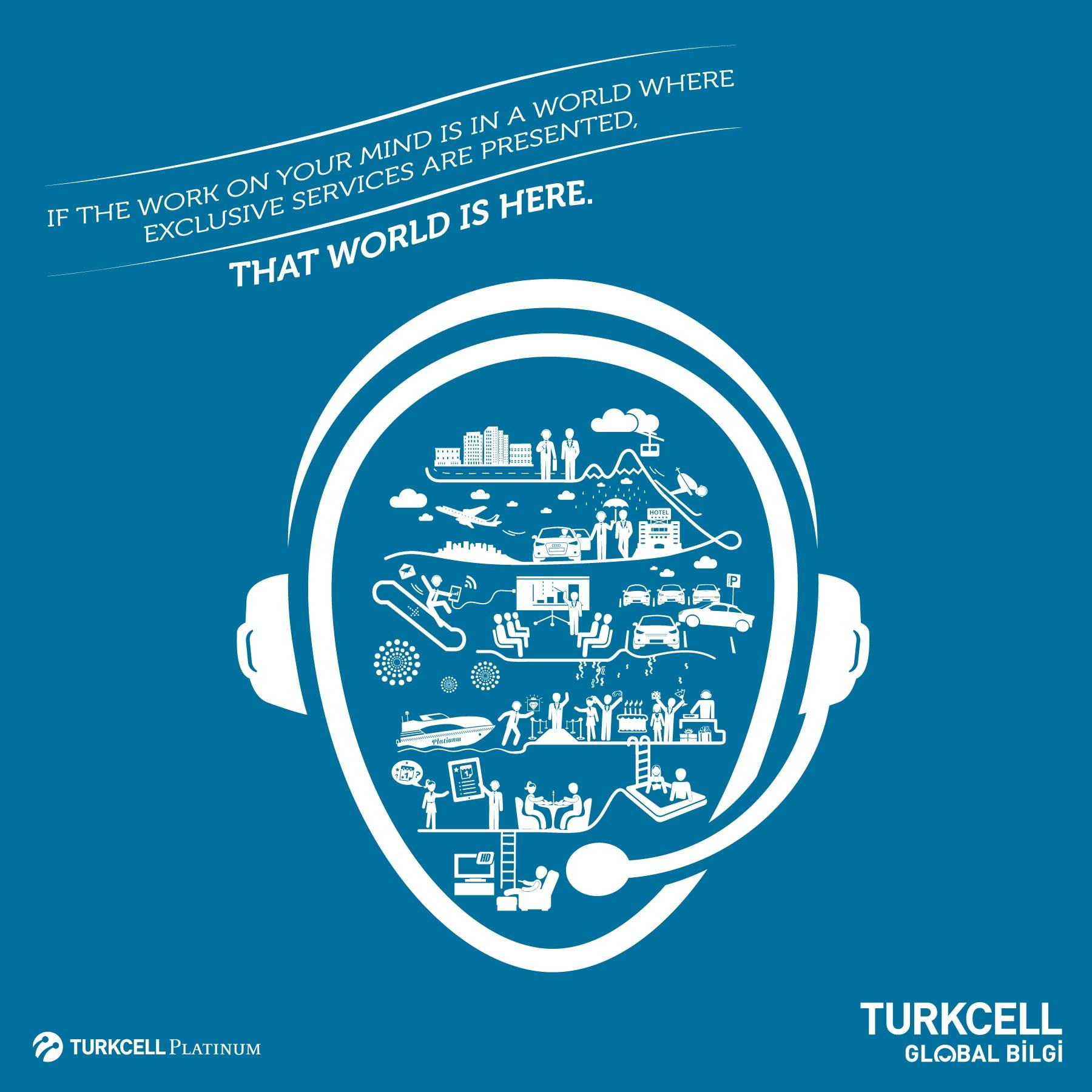 Turkcell Print Ad -  The job on your mind, 3