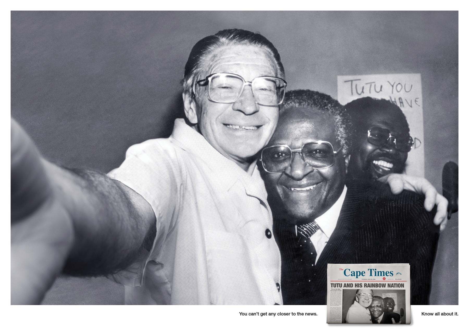 Cape Times Print Ad -  Tutu