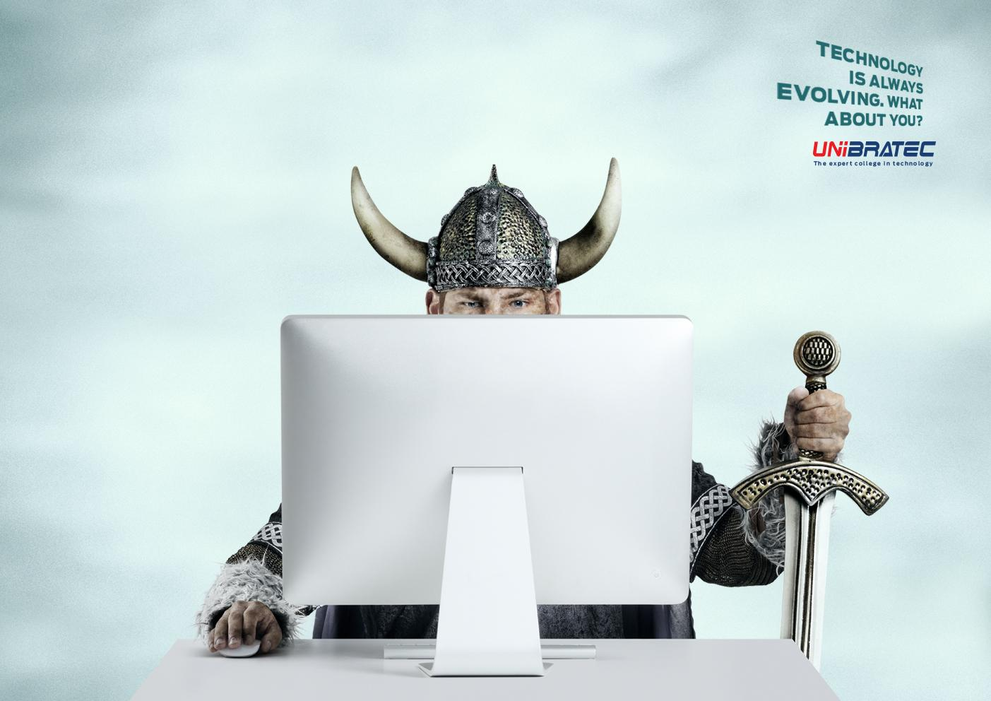 Unibratec Print Ad -  Viking
