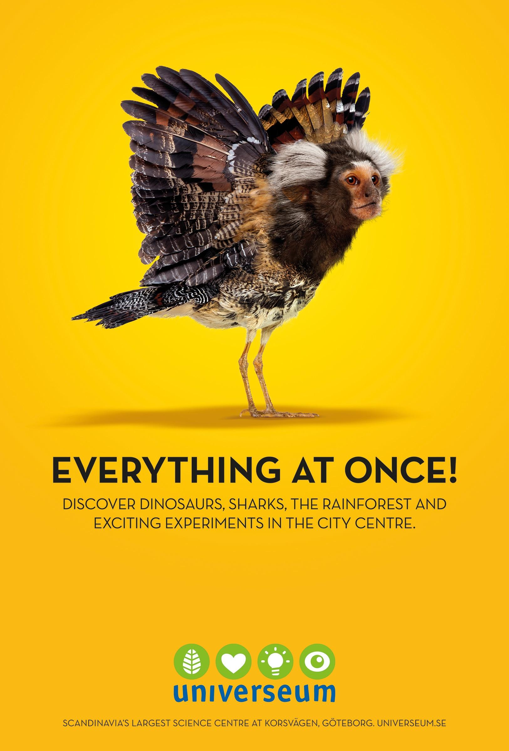 Universeum Outdoor Ad -  Everything at Once, 2