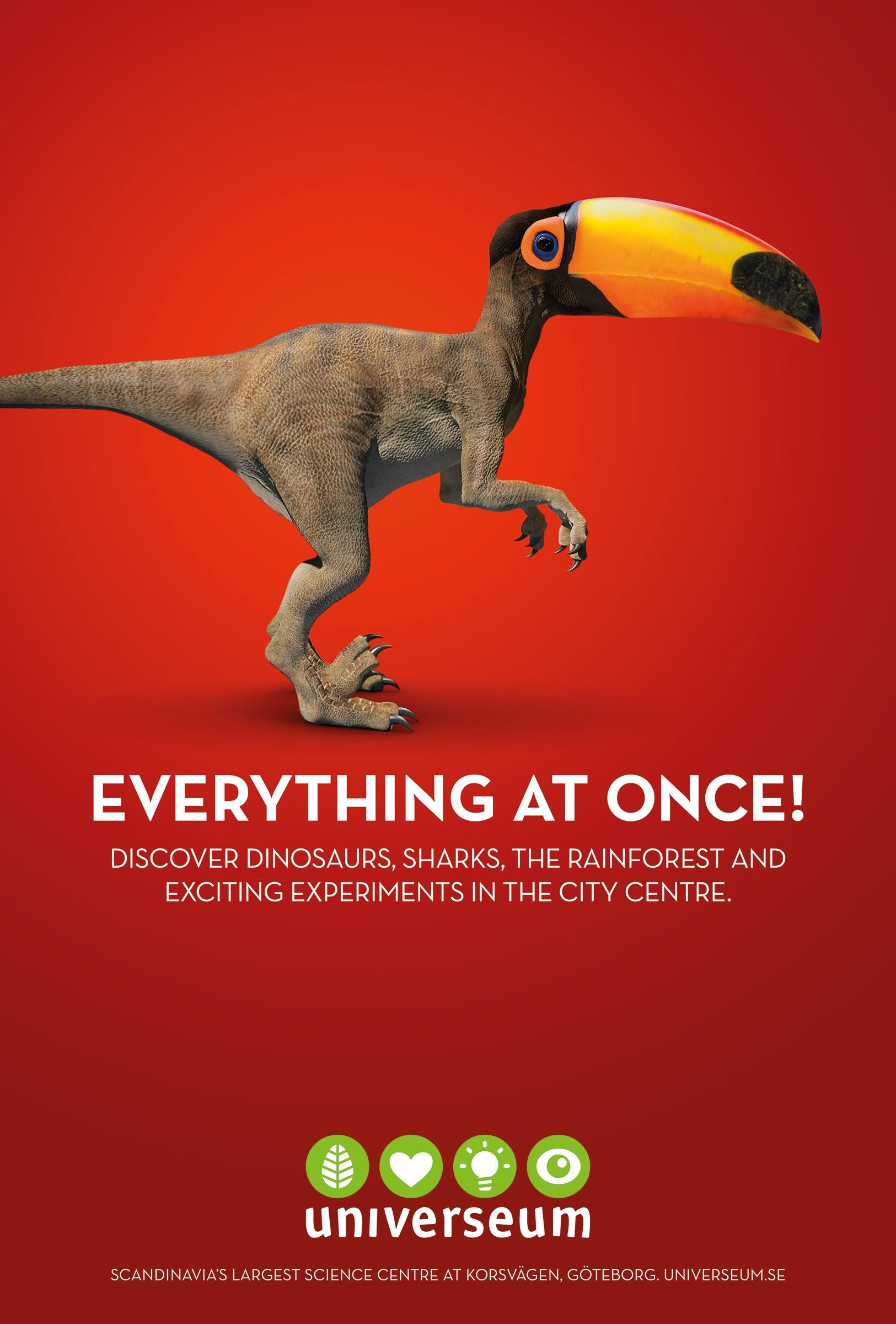 Universeum Outdoor Ad -  Everything at Once, 3