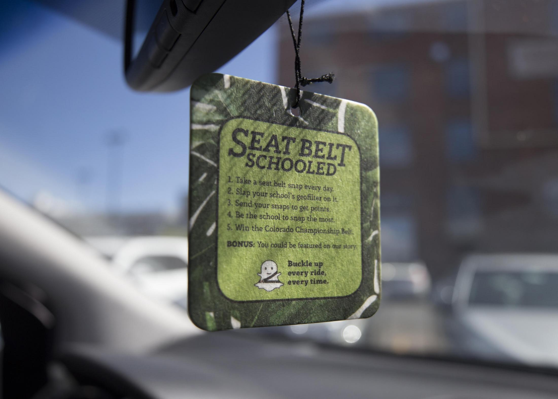 CDOT Direct Ad - Seat Belt Schooled