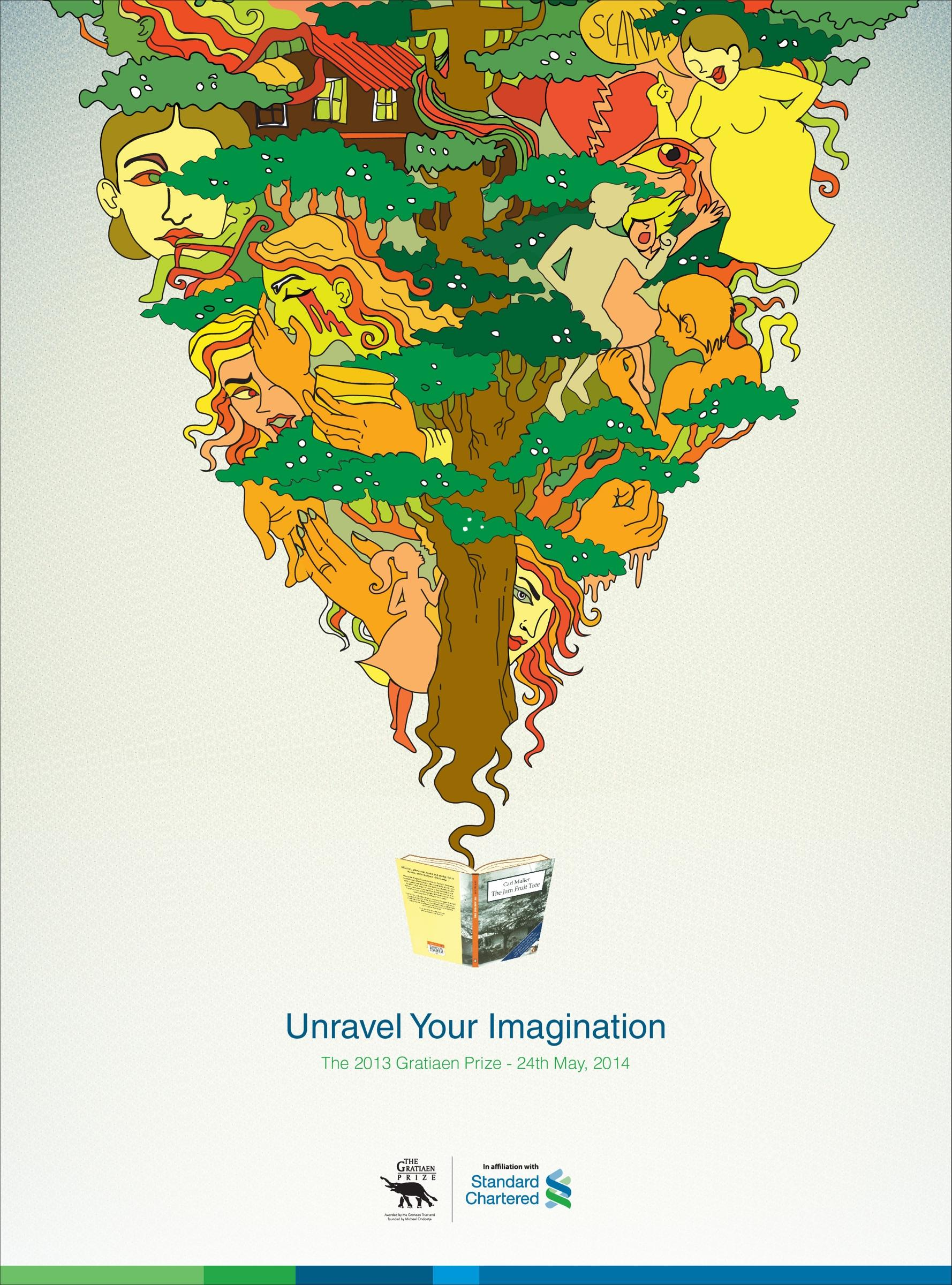 Standard Chartered Outdoor Ad -  Unravel Your Imagination, 1