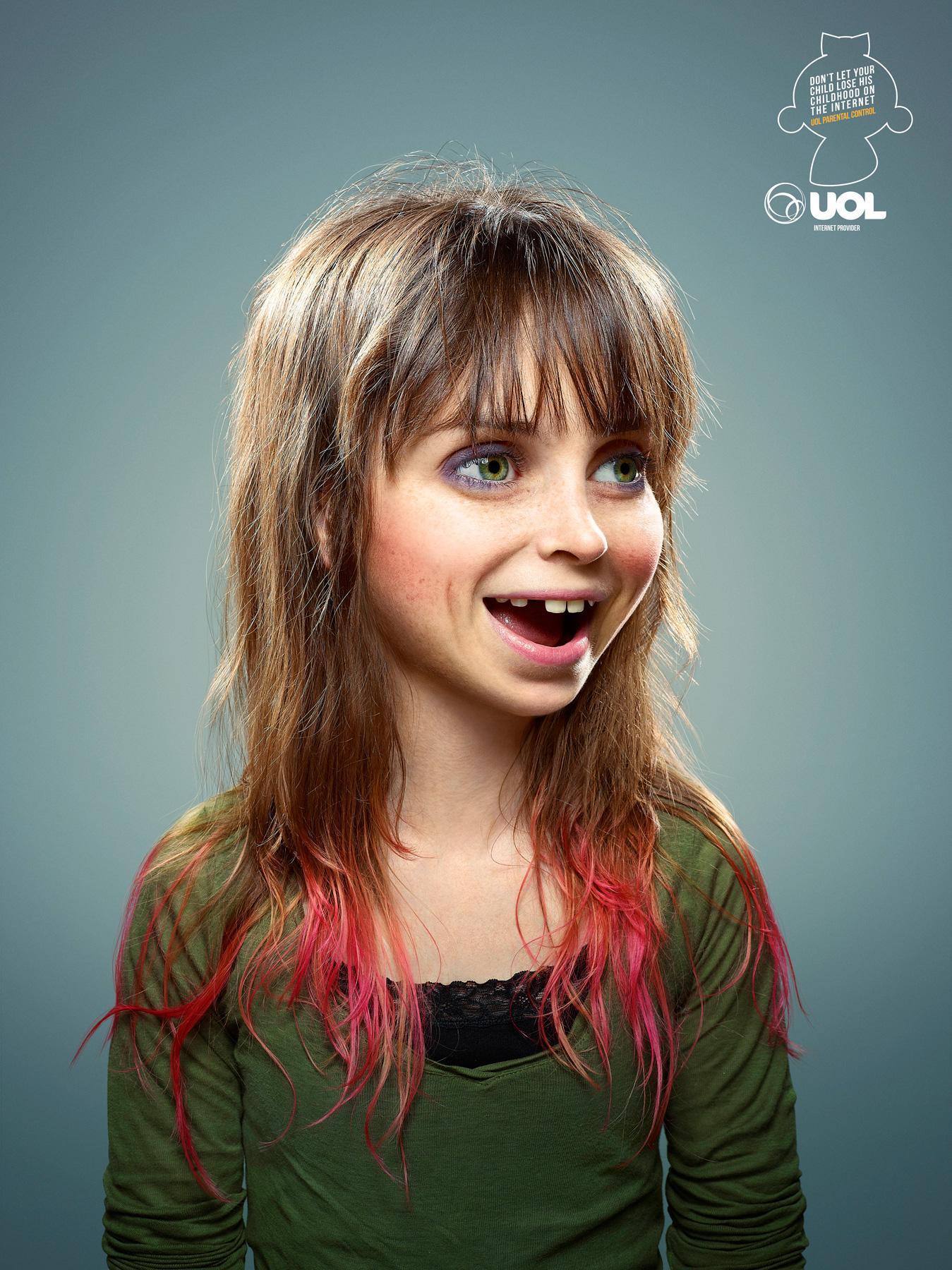 UOL Print Ad -  Childhood, 2