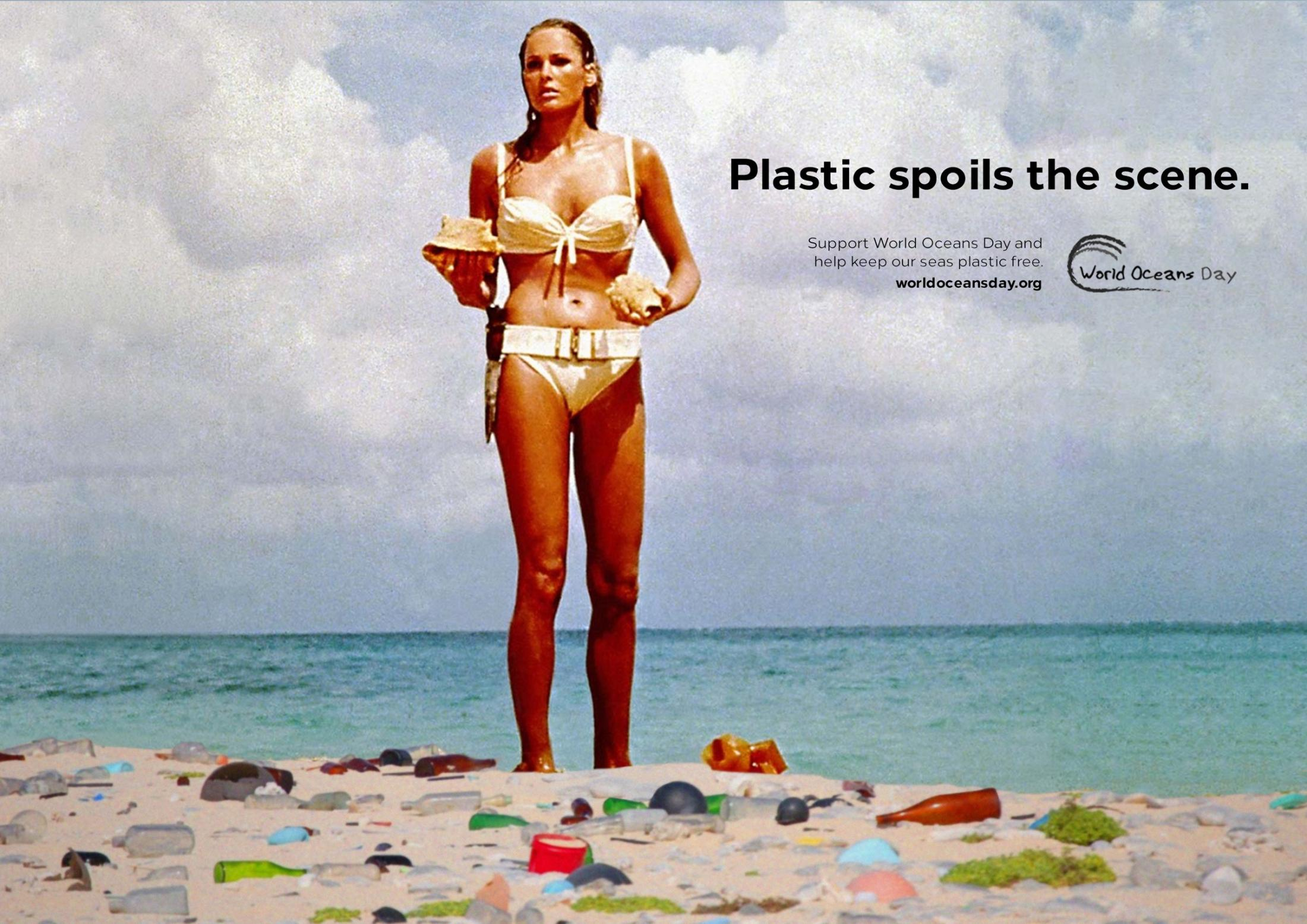 World Oceans Day Print Ad - Ursula