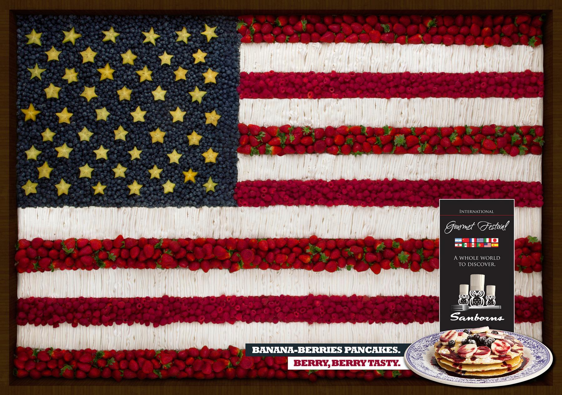 Sanborns Print Ad -  USA