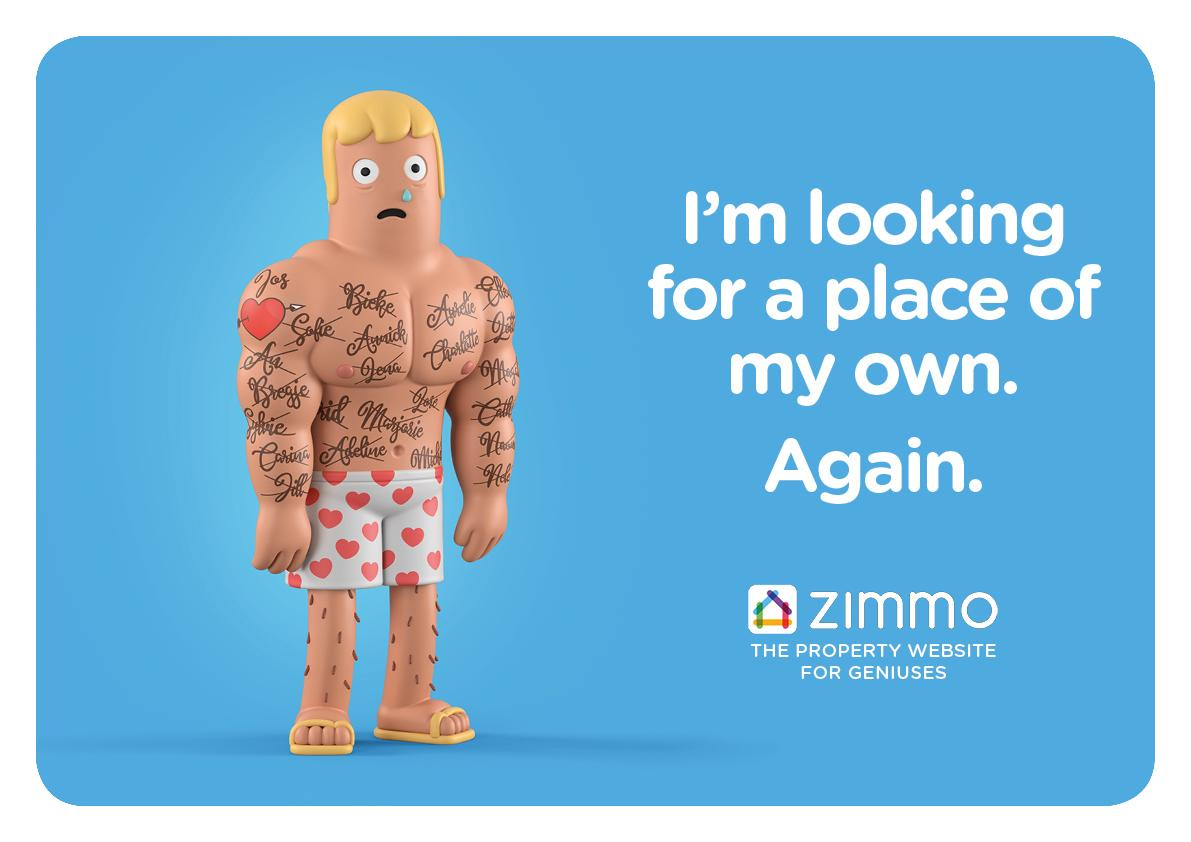Zimmo Print Ad - The Property Website for Geniuses, 6