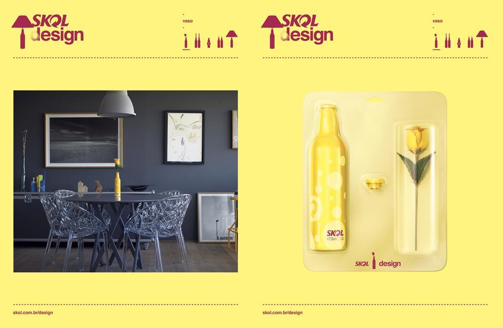 Skol Direct Ad -  Vase