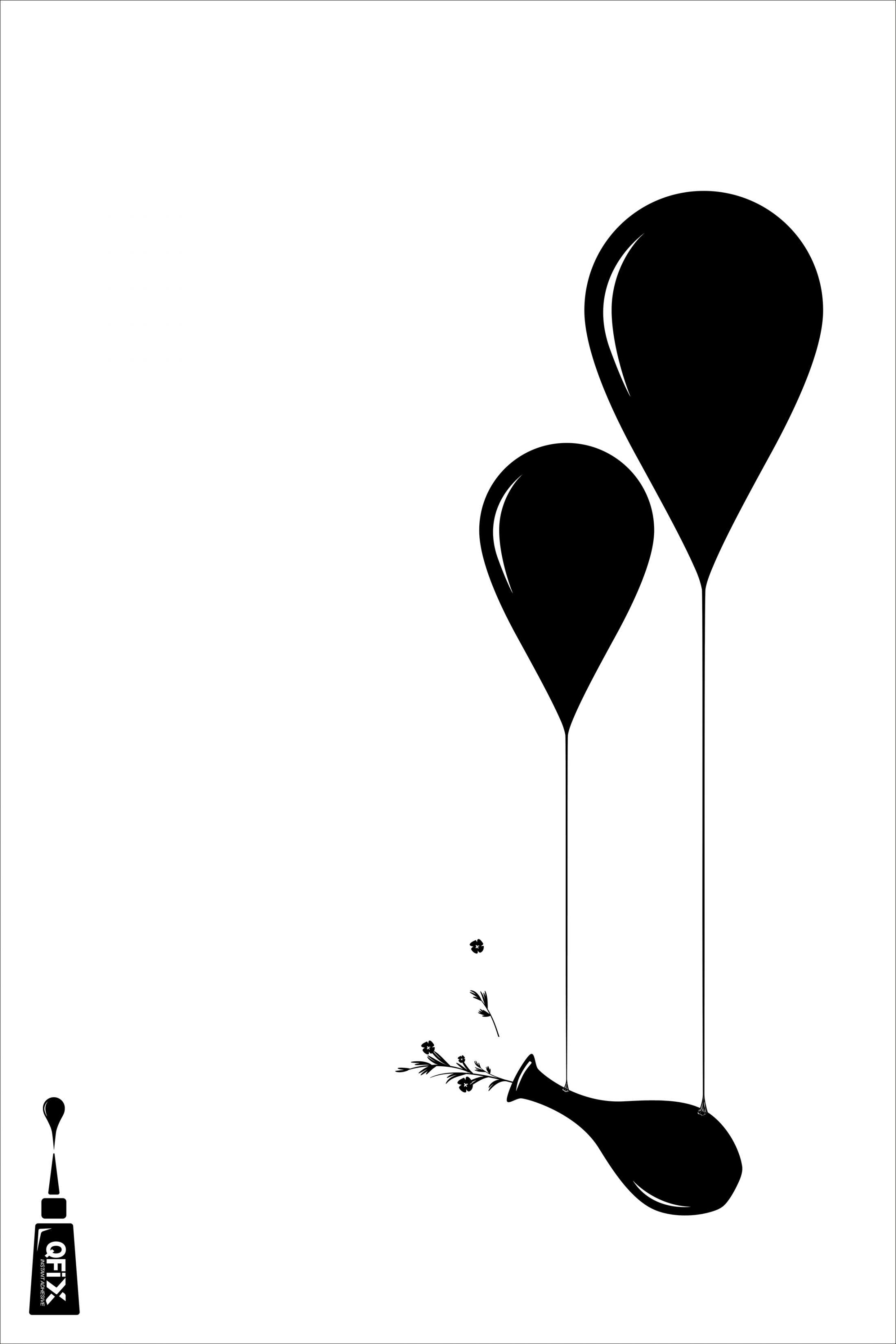 Qfix Print Ad - Vase