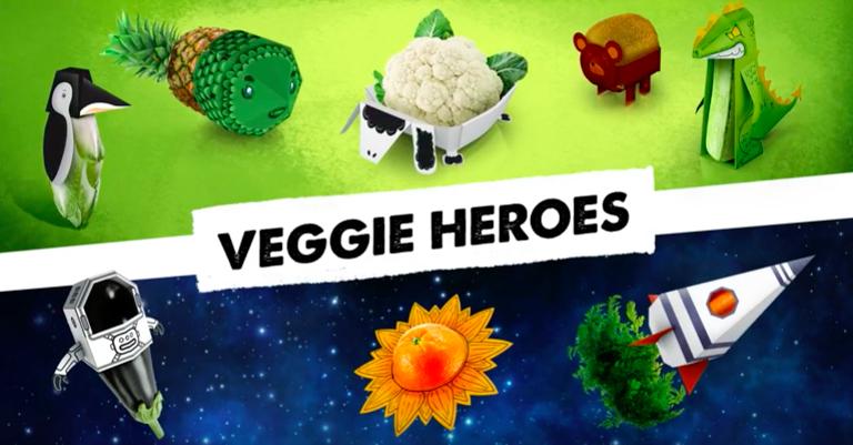 Mega Image Direct Ad - Veggie Heros