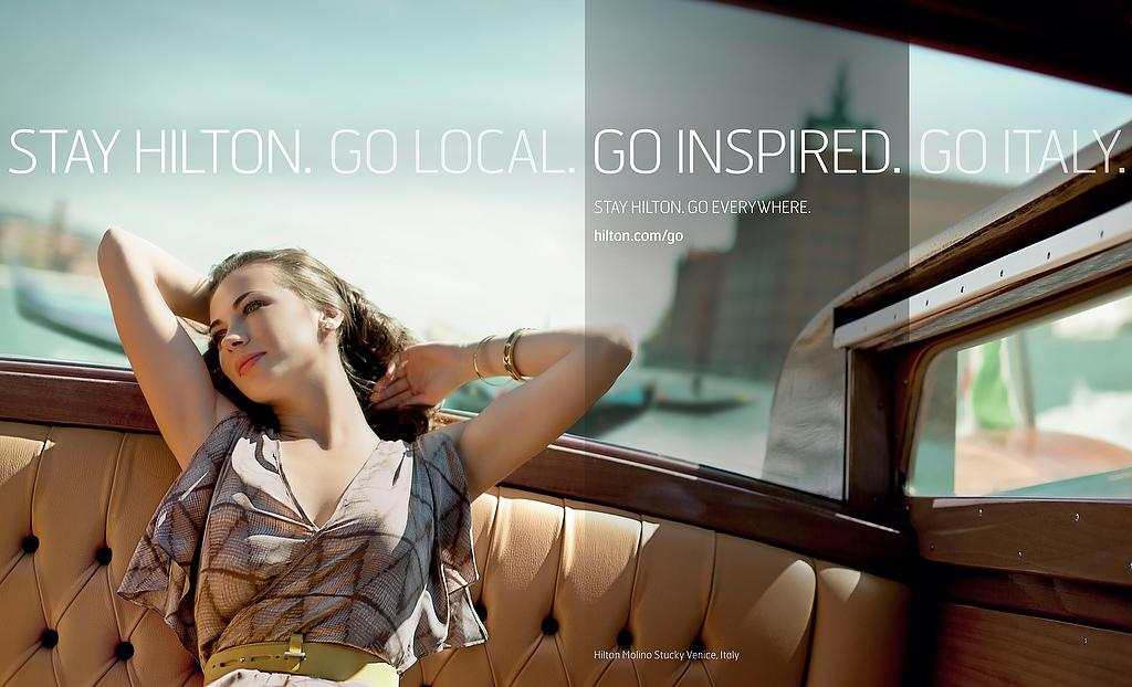 Hilton Print Ad -  Venice