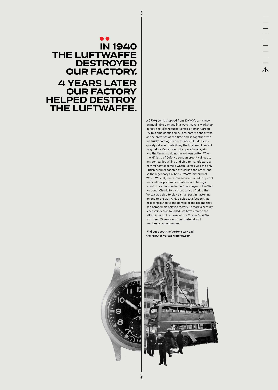 Vertex Print Ad - Luftwaffe