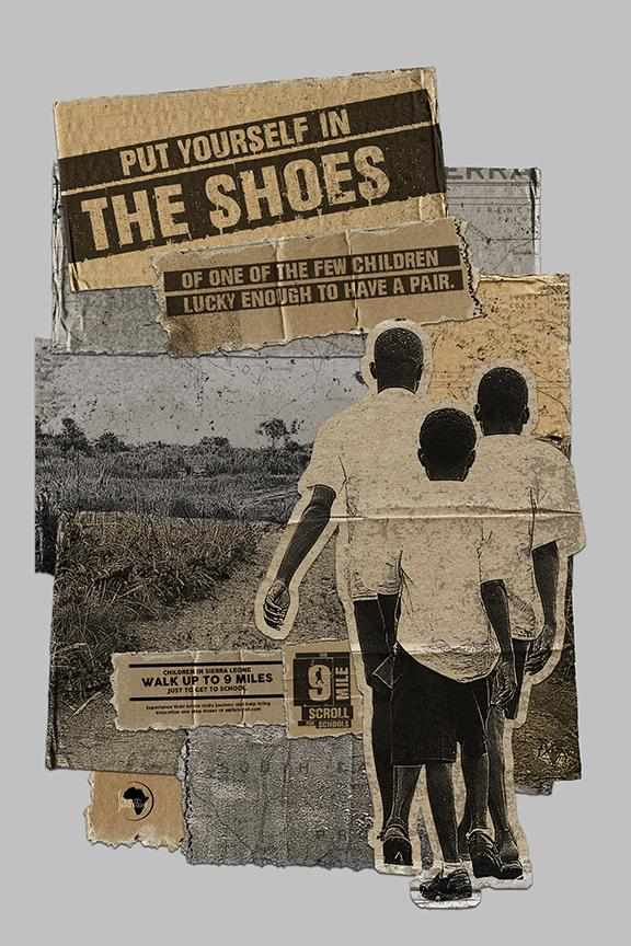 Shine On Sierra Leone Integrated Ad - 9 Mile Scroll