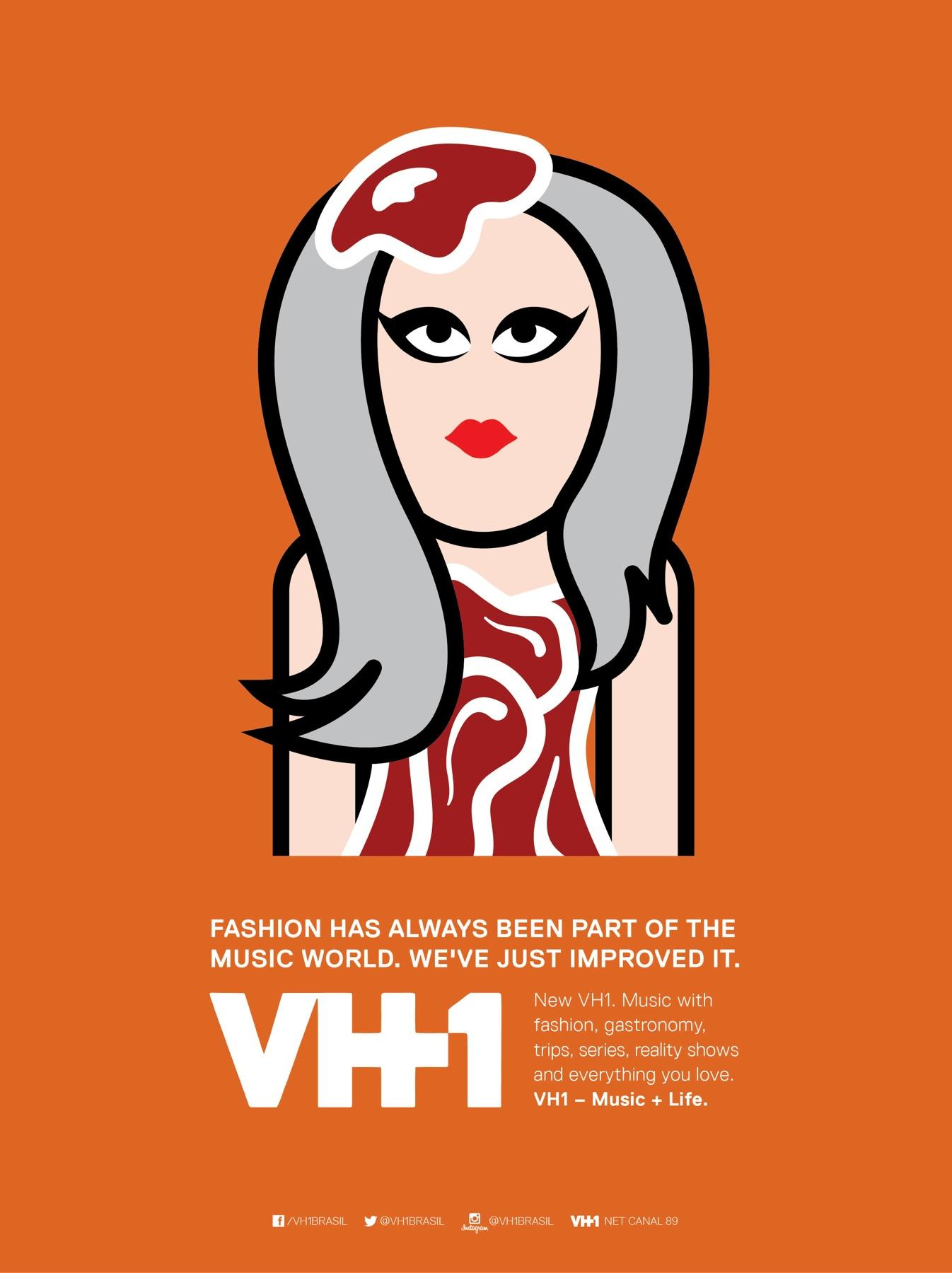 VH1 Print Ad -  Fashion