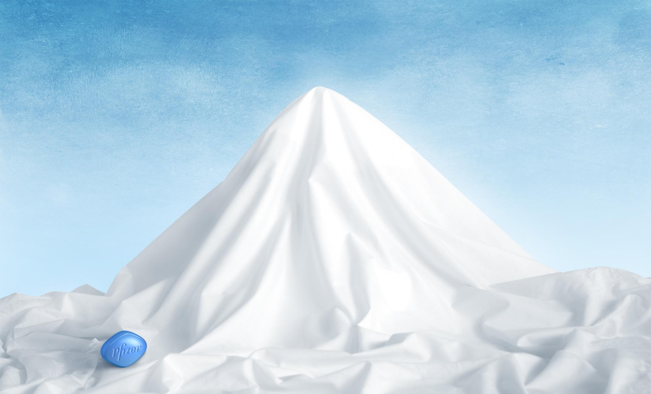 Viagra Print Ad -  Mountain, 3