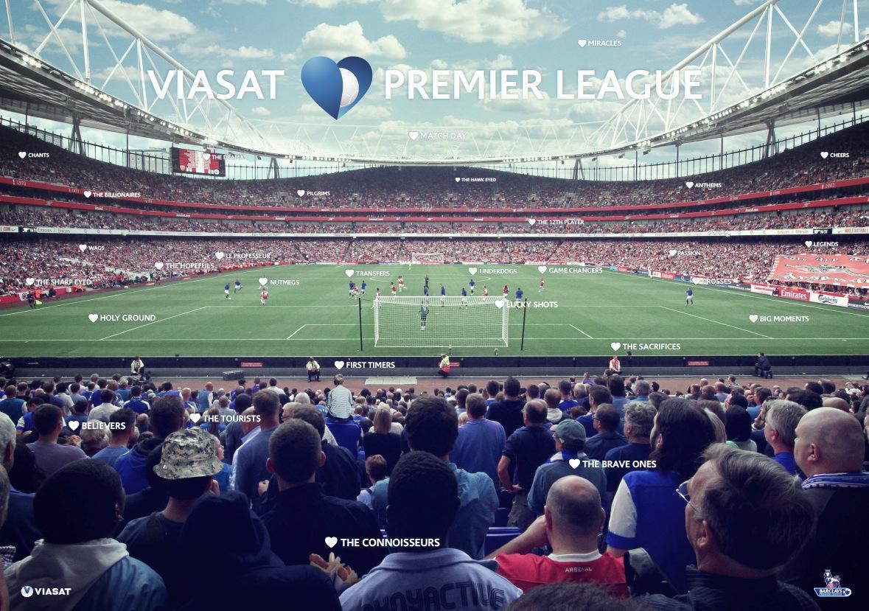 Viasat Print Ad -  Viasat Loves Premier League