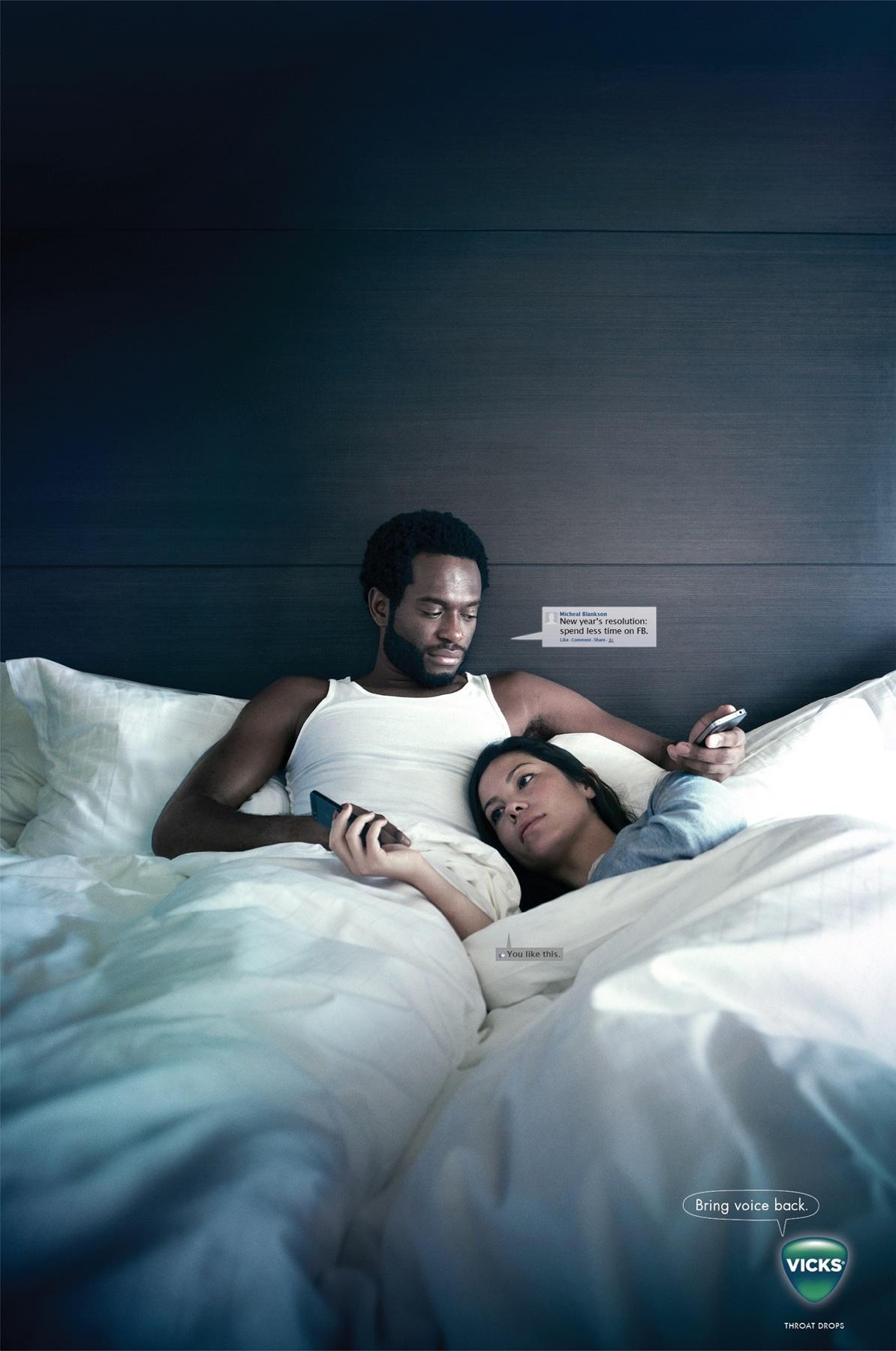 Vicks Print Ad -  Couple
