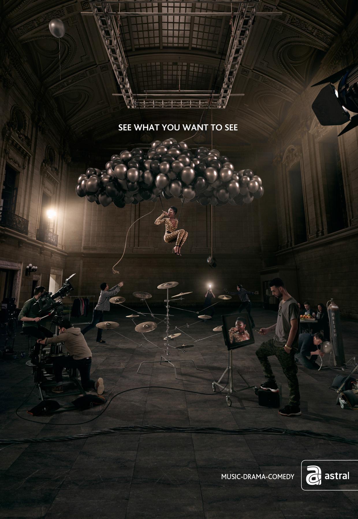 Astral Print Ad -  Videoclip