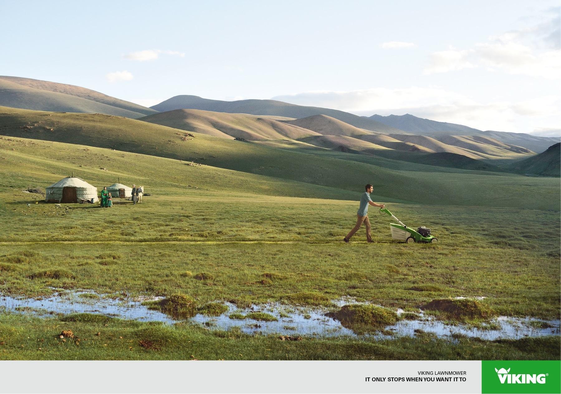Viking Print Ad -  Mongolia