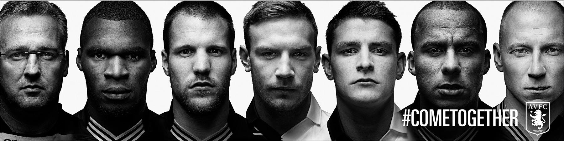 Aston Villa FC Outdoor Ad -  #COMETOGETHER