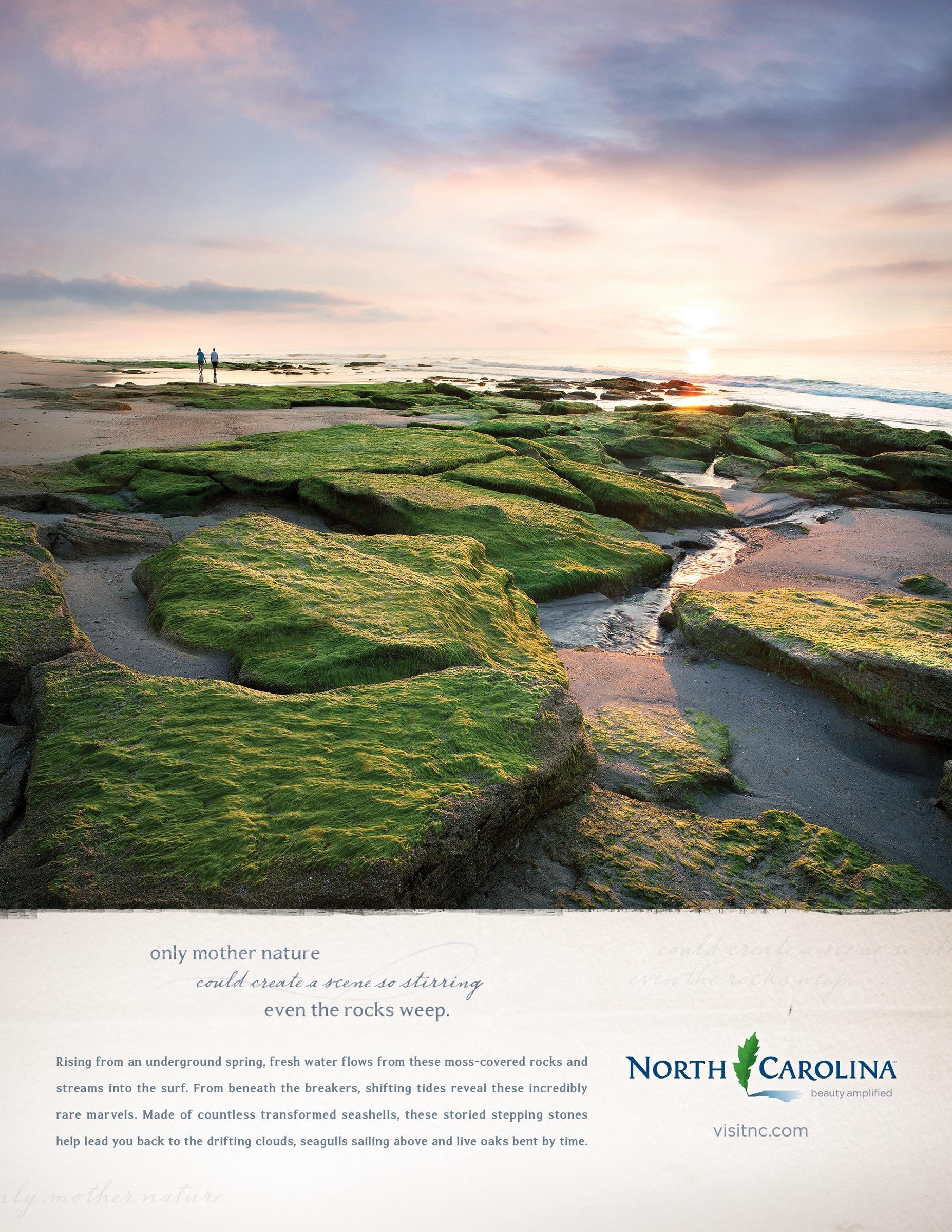 Visit North Carolina Print Ad -  Beauty Amplified, 3