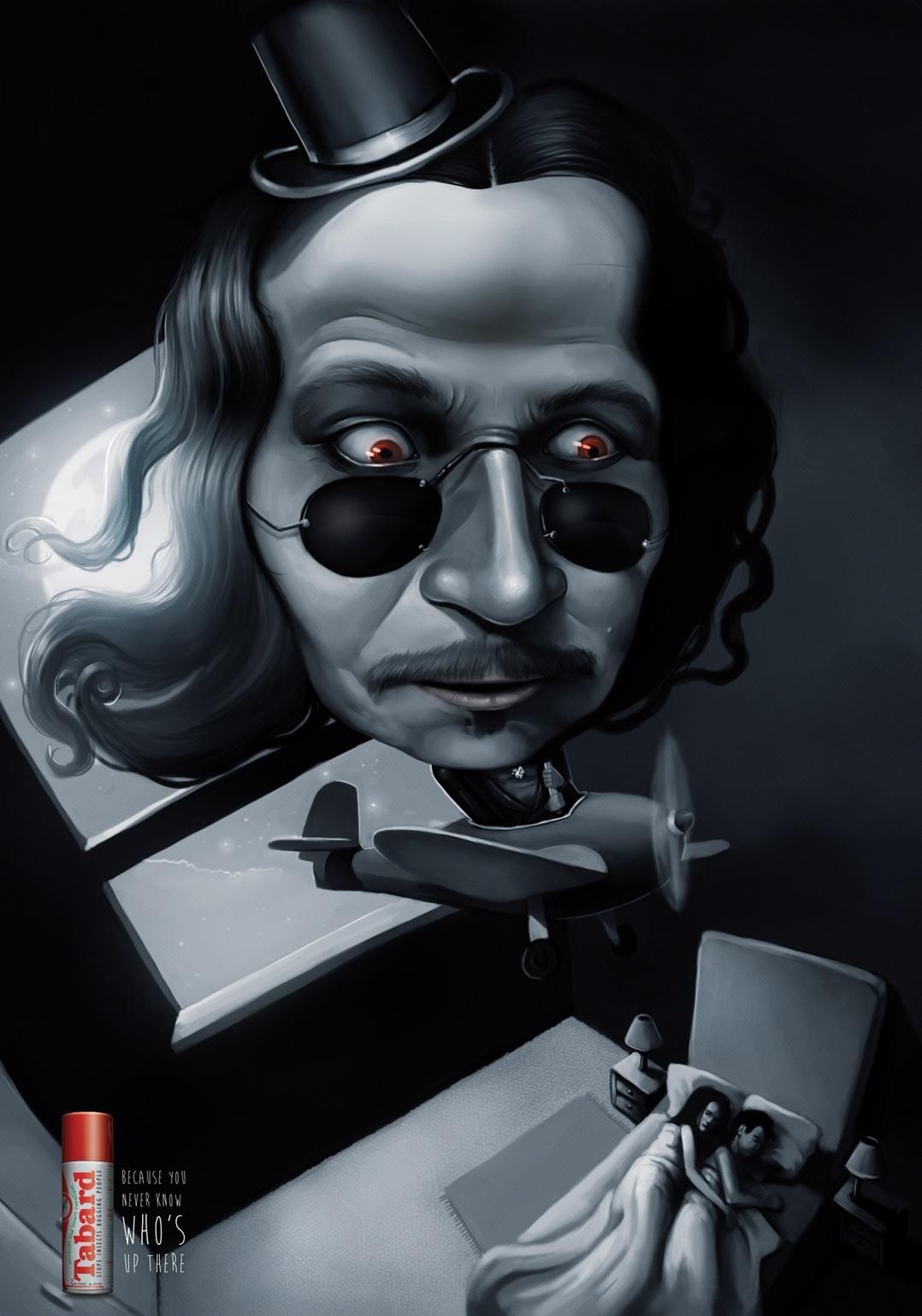 Tabard Print Ad -  Vlad Dracula