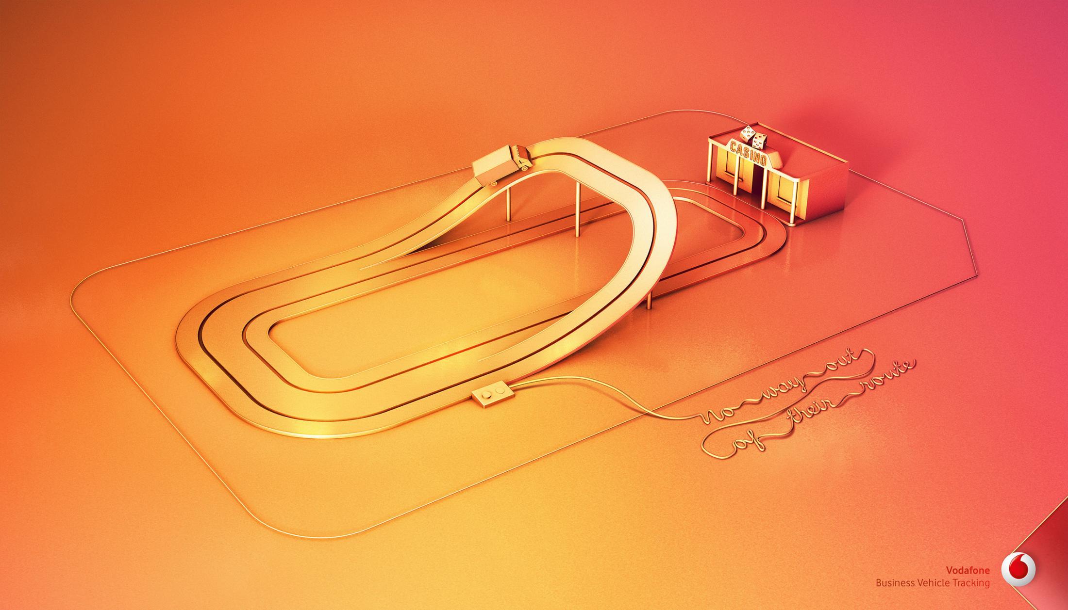 Vodafone Print Ad - Casino