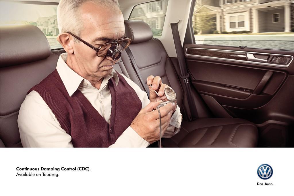 Volkswagen Print Ad -  Clockmaker