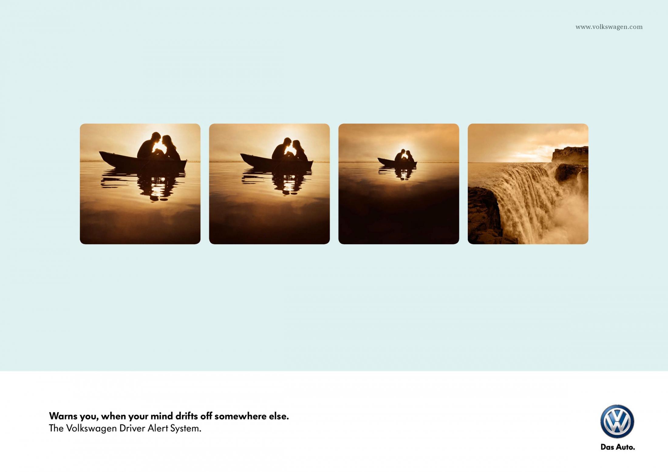 Volkswagen Print Ad -  Boat