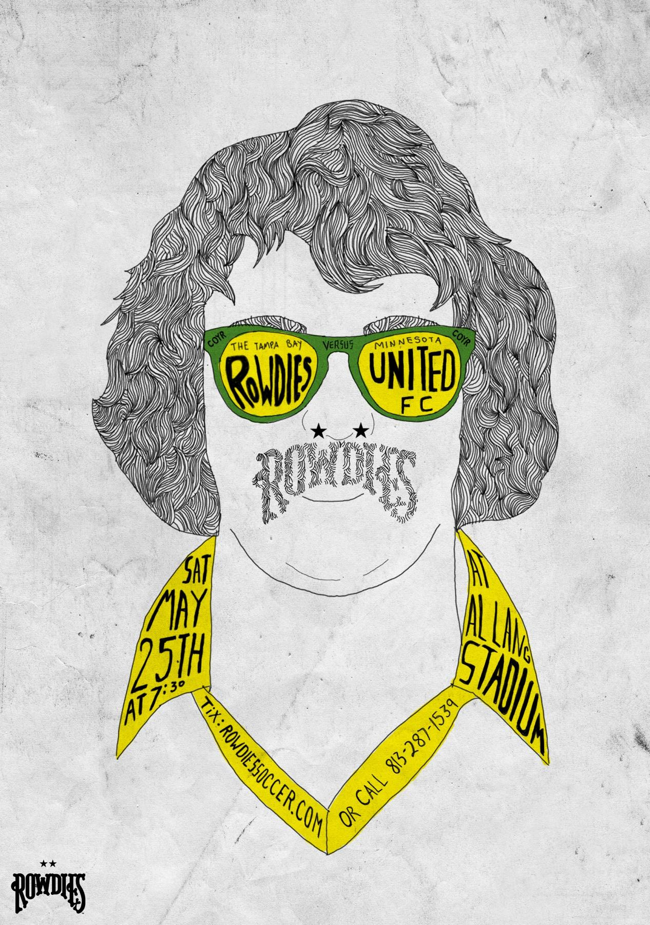 Tampa Bay Rowdies Outdoor Ad -  vs. Minnesota United